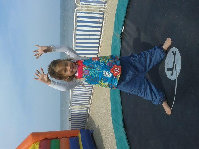 Le trampoline des mini Kanar'o