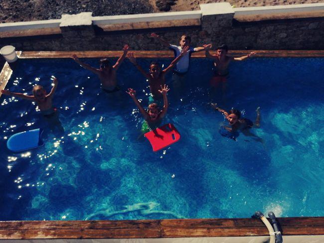 Baignade piscine