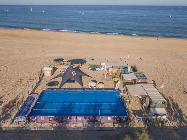 club de plage hossegor